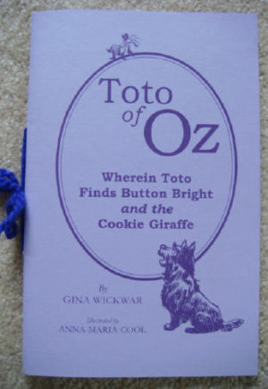 Toto of Oz Book Gina Wickwar Limited Edition