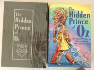 HIdden Prince of Oz Book Slipcase limited edition
