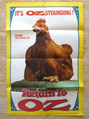 Return to Oz movie Poster british