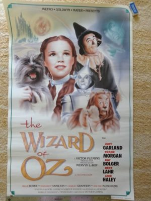 Wizard of Oz movie Poster mgm