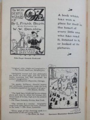 American Fairy Tales L Frank Baum 1st Edition book
