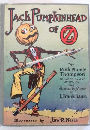 Jack PumpkinHead of oz book Copp Clark 1st edition ruth plumly thompson