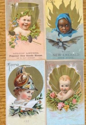 w w denslow postcards baker and hayes pluto