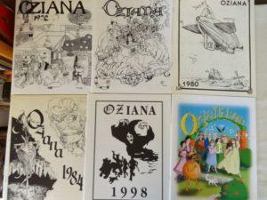 Oziana Oz Club Magazine 1972 1973