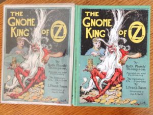 Gnome King in Oz Dust Jacket 1st edition