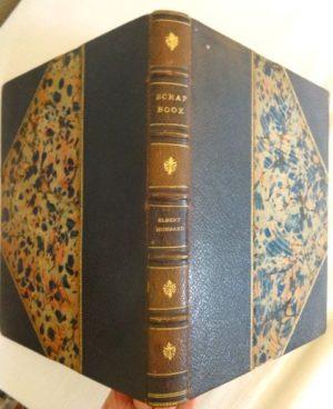 Elbert Hubbards ScrapBook 3/4 levant leather roycrofters