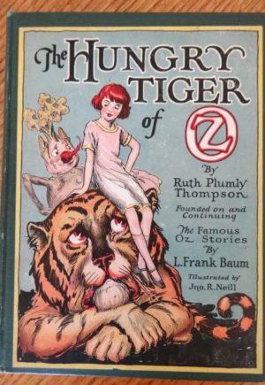 hungry tiger of oz book 1st edition 1926