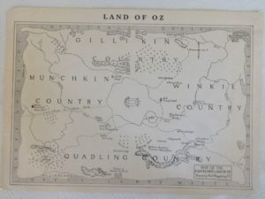 Land of Oz Map Reilly & Lee