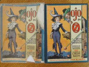 Ojo in oz book 1st edition in dust jacket