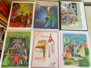 Oziana Color Magazines Wizard of Oz Club 1971