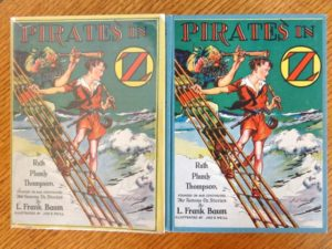 Pirates in oz book dust jacket