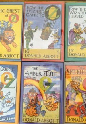 Donald Abbott Wizard of Oz Books limited edition