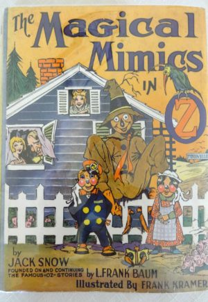 Magical Mimics in oz book dust jacket