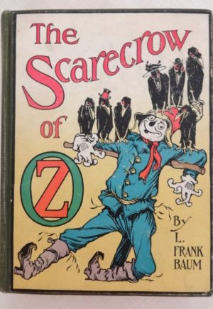 Scarecrow of oz book color plates