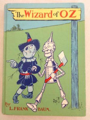 Wizard of Oz book Denslow cover