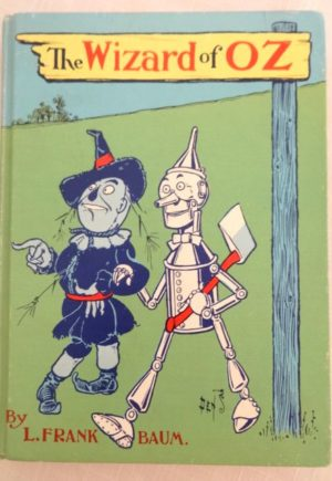 Wizard of Oz book Denslow cover