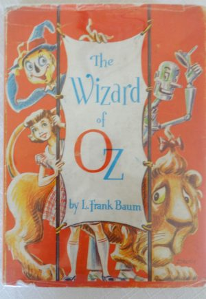 wizard of oz dick martin dust jacket