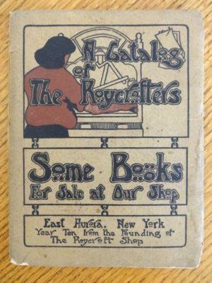 roycroft catalog 1905 original