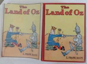 Land of oz book in dust jacket