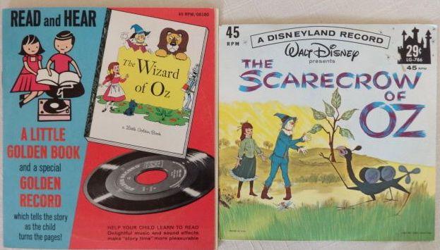 wizard of oz record 1965 scarecrow