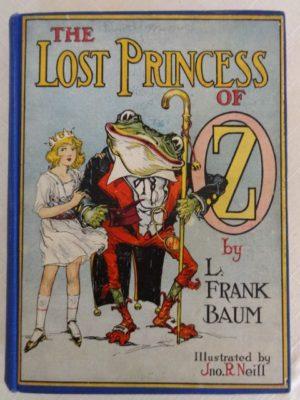 Lost Priness of Oz Book vintage