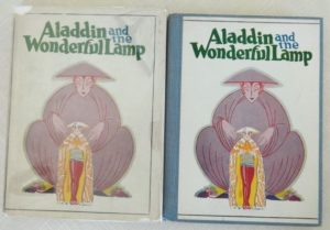 aladdin john r neill dust jacket book