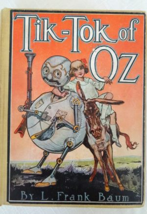 Tik tok of oz book l frank baum