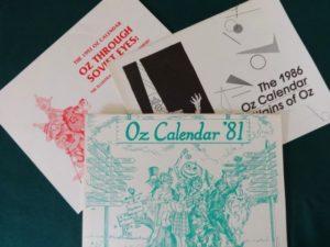 wizard of oz club calendars oziana
