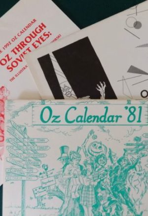 wizard of oz club calendars oziana