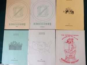 Oz club membership directories