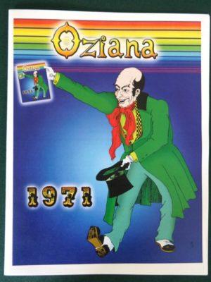 Oziana 1971 #1 issue wizard of oz