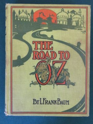 Road to oz book 1st edition l frank baum