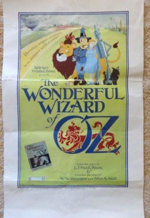 rob roy MacVeigh wonderful wizard of oz poster