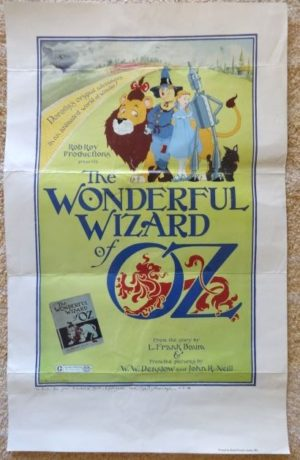 rob roy MacVeigh wonderful wizard of oz poster