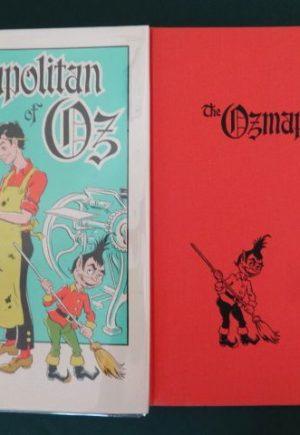 Ozmapolitan of oz Signed Dick Martin book
