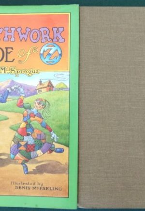 Patchwork bride of oz book signed wizard of oz