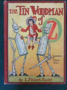 TinWoodman of oz book 1st edition 1918