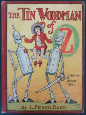 TinWoodman of oz book 1st edition 1918