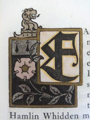 Ali Baba roycroft 1st edition book w w denslow initials