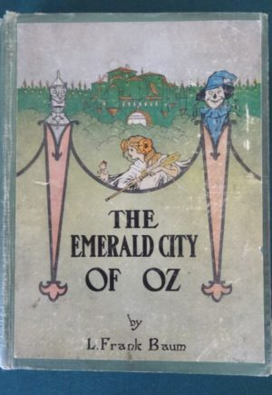 Emerald city of oz book 1st edition 1918