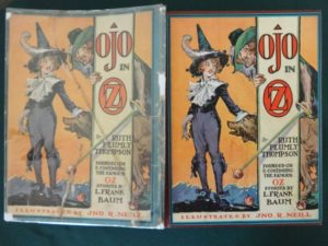 Ojo in Oz 1st edition book dust jacket
