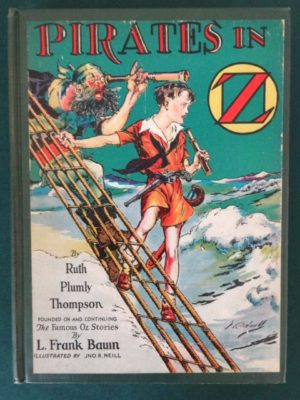 Pirates in oz first edition book ruth plumly thompson