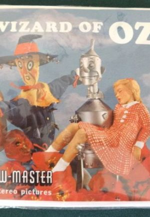 1962 Wizard of Oz Viewmaster reels