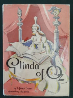 glinda of oz book dick martin dust jacket