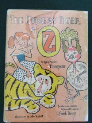Hungry Tiger of Oz Roycraft Dust Jacket