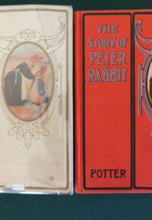 Peter Rabbit book john r neill dust jacket