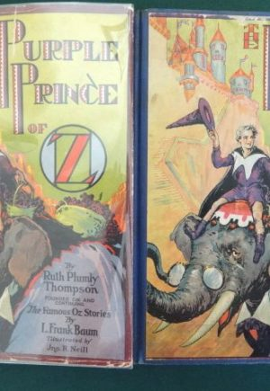 Purple prince of oz 1st edition book