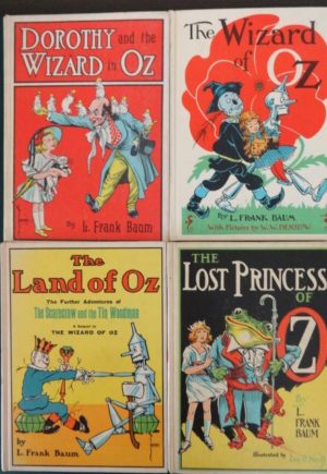 Wizard of Oz White Cover Book Set