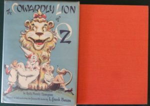 Cowardly Lion of oz dick Martin Copp Clark dust jacket