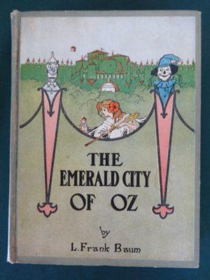 Emerald city of oz book color plates l frank baum